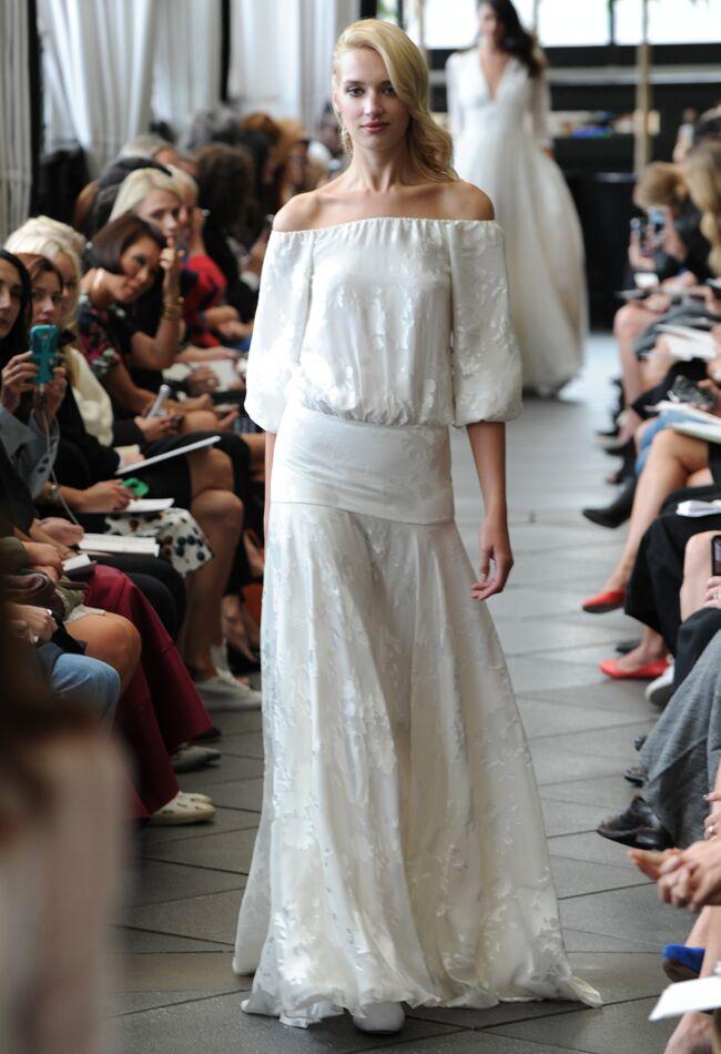 Delphine Manivet Fall/Winter 2015 Wedding Dresses   Kurt Wilberding   blog.theknot.com