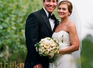 The Bride Lori Ferguson, 27, a senior account manager for a marketing agency The Groom Nicholas Jones, 28, an accountant at Ferguson Enterprises The D