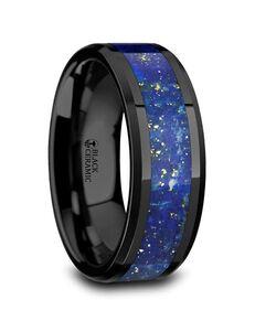 Mens Tungsten Wedding Bands C5731-PBCL Tungsten Wedding Ring