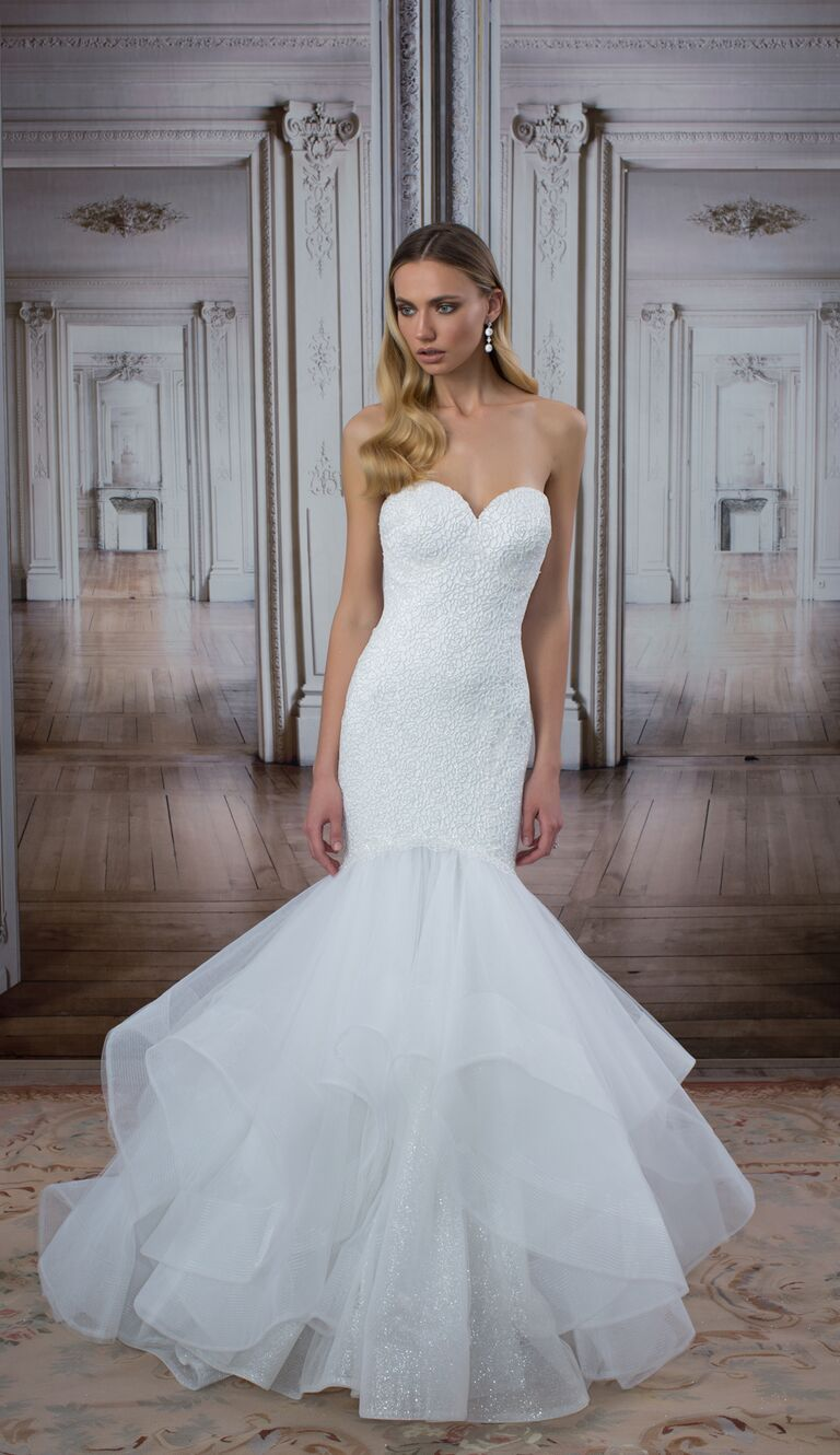 00418d1455352 Pnina Tornai wedding dress from the LOVE collection at Kleinfeld in New  York City
