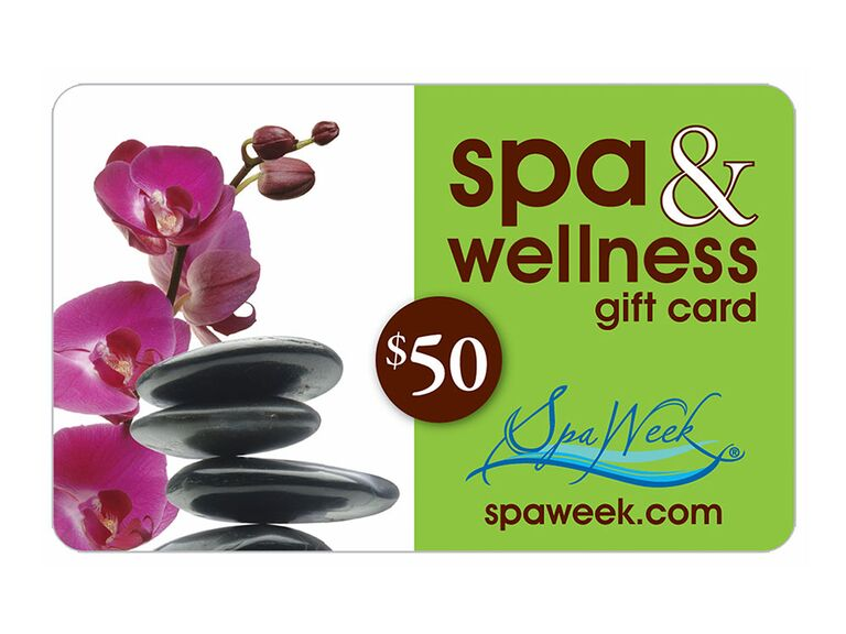 spa week gift card