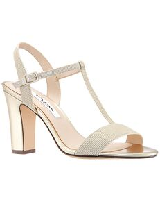 Nina Bridal Scout_Champagne/Gold Gold, Champagne Shoe
