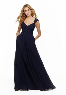 Morilee by Madeline Gardner Bridesmaids 21647 V-Neck Bridesmaid Dress