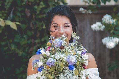 Blue Thistle Wedding Media