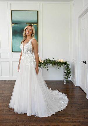 Essense of Australia D3151 A-Line Wedding Dress