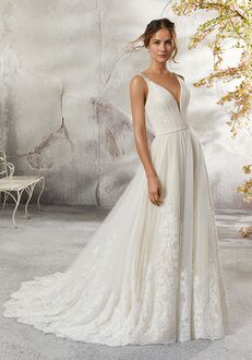 Morilee by Madeline Gardner/Blu 5693 / Lena A-Line Wedding Dress