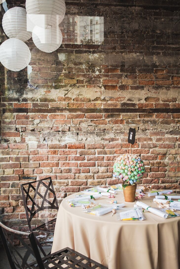 Vintage-Inspired Wedding Reception at A New Leaf
