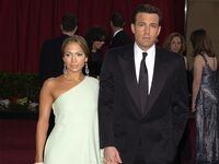 bennifer march 2003 - picture of jennifer lopez and ben affleck together on the red carpet
