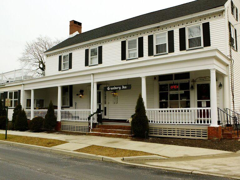 Barn wedding venue in Cranbury, New Jersey.