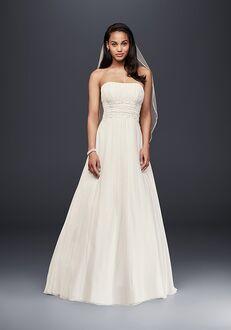 David's Bridal David's Bridal Collection Style V9743 A-Line Wedding Dress