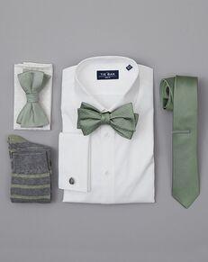 The Tie Bar Wedding Accessories Sage Green Wedding Accessories Green Tuxedo