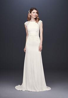 David's Bridal David's Bridal Style WG3939 Sheath Wedding Dress