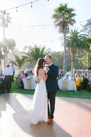 Classic Outdoor First Dance at Dos Pueblos Ranch in Goleta, California