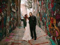 Kansas wedding couple