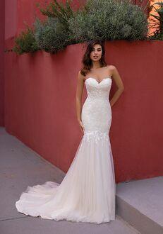 WHITE ONE BERGAMOT Mermaid Wedding Dress