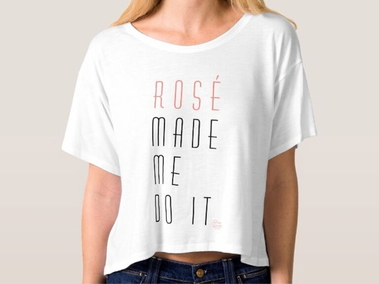 rosé shirt