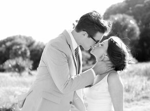 The Bride Katie Harrell, 31, a stylist for Stella & Dot The Groom Andy Hoffman, 28, works in sales The Date April 30  Feeling inspired by the location