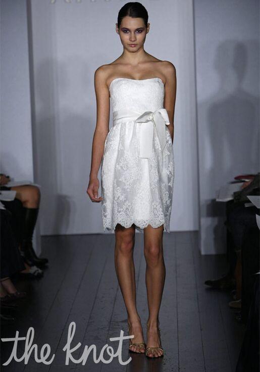 Amsale Presents Little White Dress L106 Ally Wedding Dress The Knot