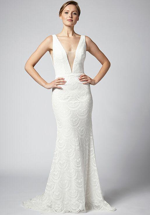 Henry Roth for Kleinfeld Essi Sheath Wedding Dress