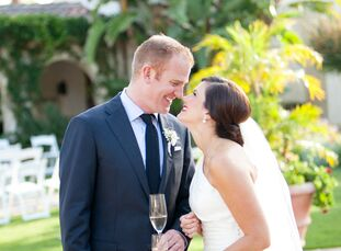 Lauren McDonell (29 and a first grade teacher) met Eric Cappel (32 and director of sales operations) on her first and only eHarmony date. What started