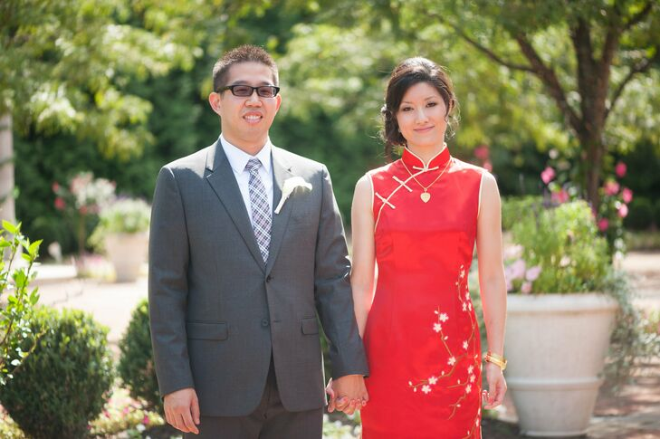 Red Chinese Bridal Gown