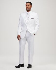 Jos. A. Bank Peak Lapel White Tuxedo White Tuxedo