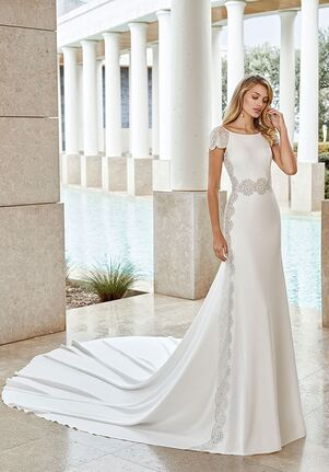 Rosa Clará Couture SANCHO Sheath Wedding Dress