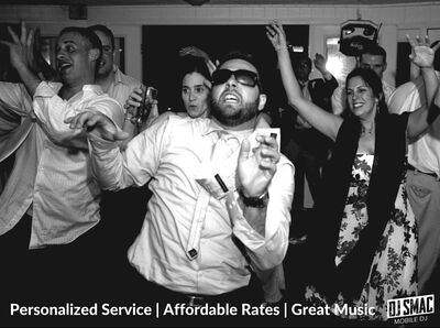 DJ SMAC - Professional, 5-star rated wedding DJ!