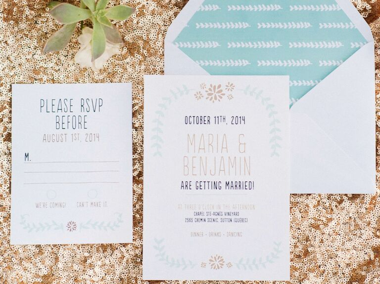 Interesting Wedding Invitation Ideas: New Ideas For Modern Wedding Invitation Wording
