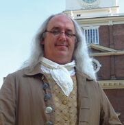 Philadelphia, PA Ben Franklin Impersonator | Ben Franklin Impersonator- Robert DeVitis