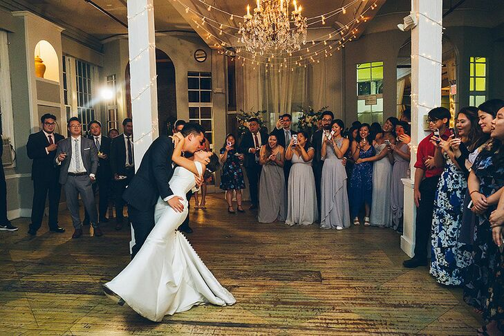 Elegant First Dance at the Metropolitan Building in Long Island City, New York
