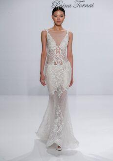 Pnina Tornai for Kleinfeld 4521 Sheath Wedding Dress