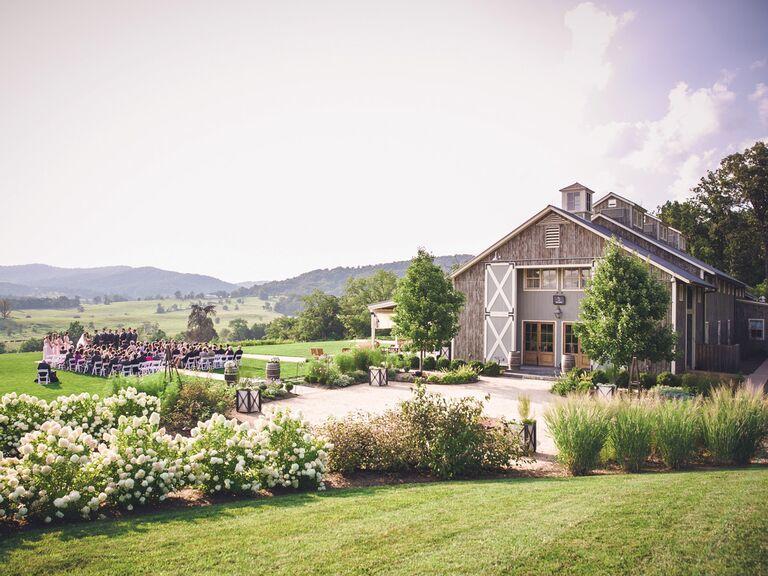 Pippin Hill Farm & Vineyards Virginia wedding venue