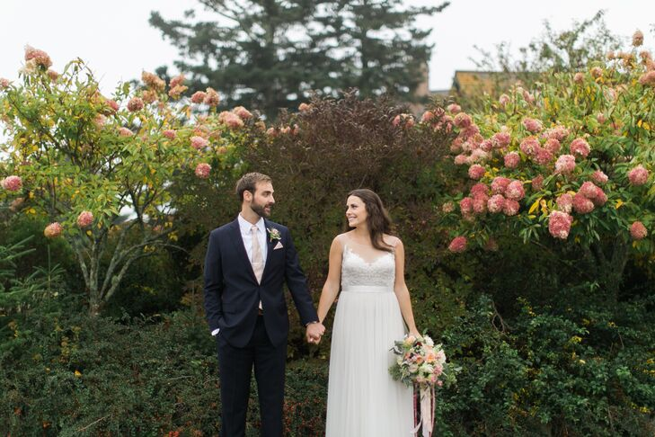 Jennifer White (24, owner of Portland Health Coaching and senior bridal consultant/marketing manager at Andrea's Bridal) and Ethan Bravo (25, an outdo