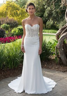 Pallas Athena PA9298N Sheath Wedding Dress