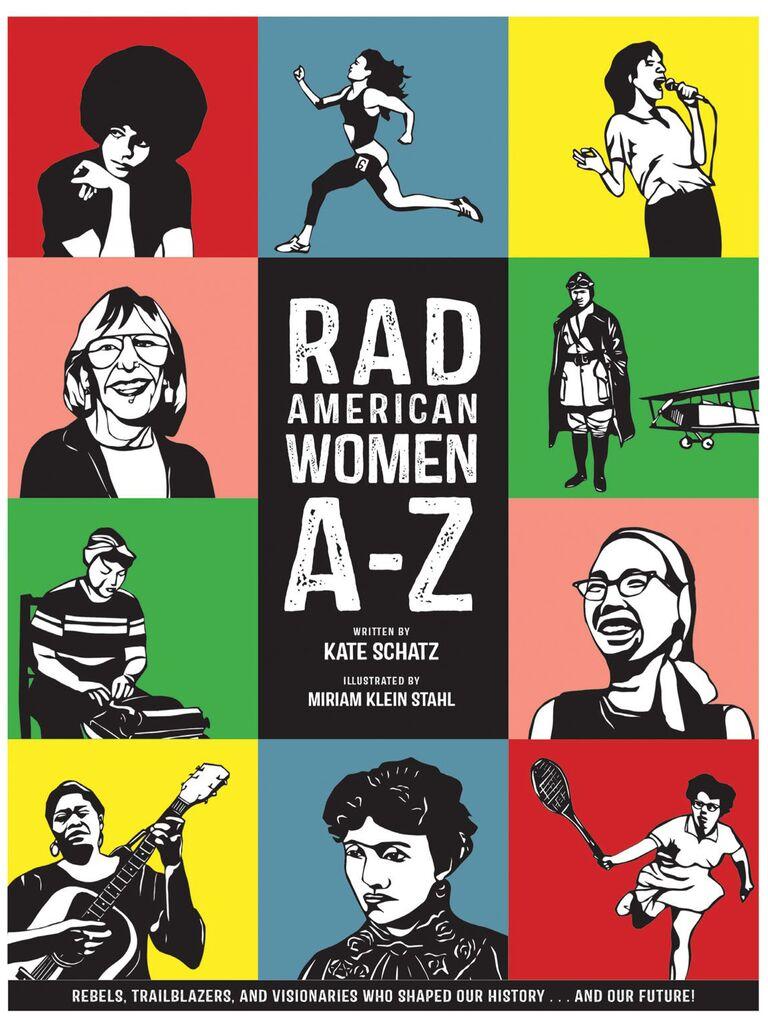 American women book flower girl gift