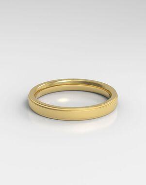 HOLDEN The Stepped Rose Gold, Platinum, White Gold Wedding Ring