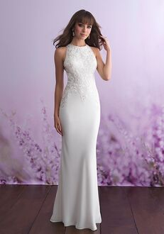 Allure Romance 3116 Sheath Wedding Dress