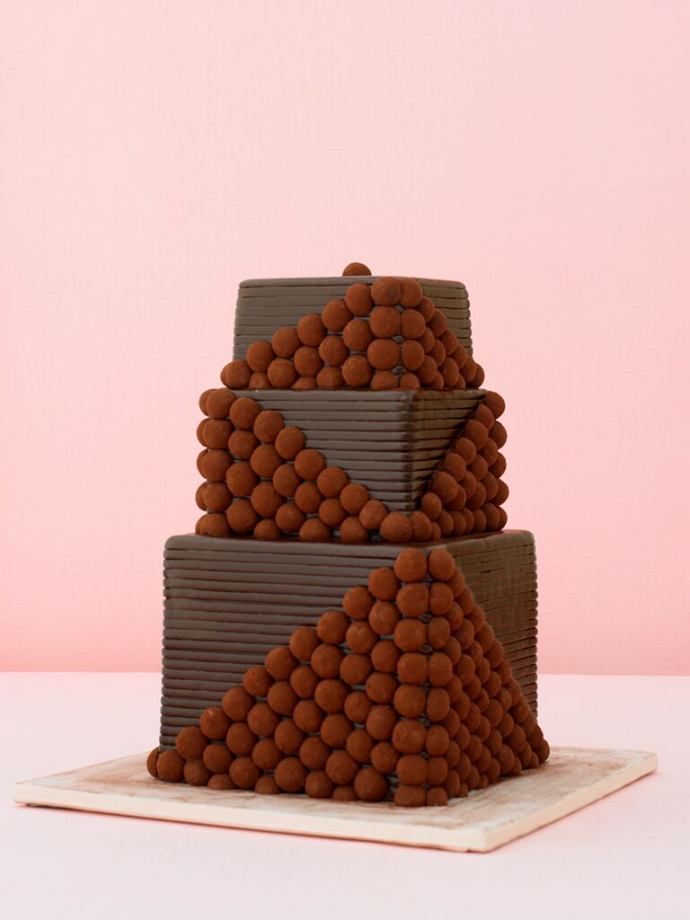 Tasty Chocolate Wedding Cakes