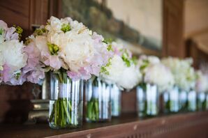 Neutral Flower Arrangements