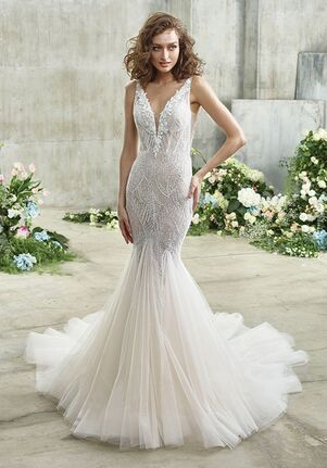 Badgley Mischka Bride EMMY Mermaid Wedding Dress