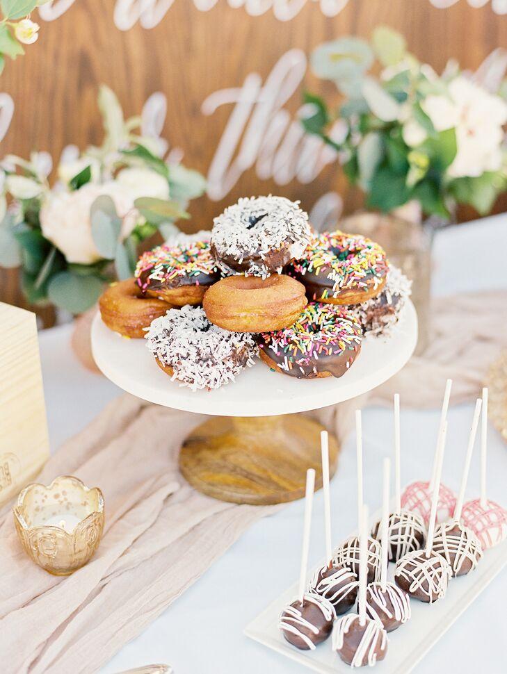 Wedding Doughnut Desserts From Duck Donuts