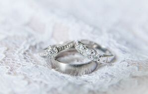 Timeless Round Diamond Wedding Rings