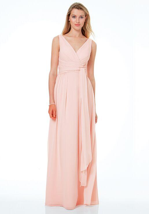Bill Levkoff 1502 V-Neck Bridesmaid Dress