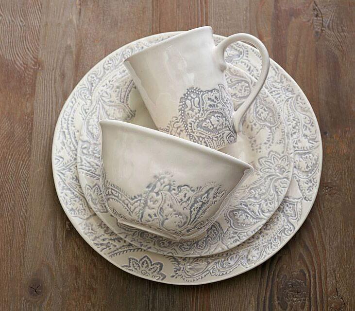 Pottery Barn Scarlett dinnerware wedding registry gift