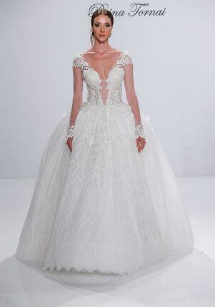53c49b137a188 Pnina Tornai for Kleinfeld Wedding Dresses