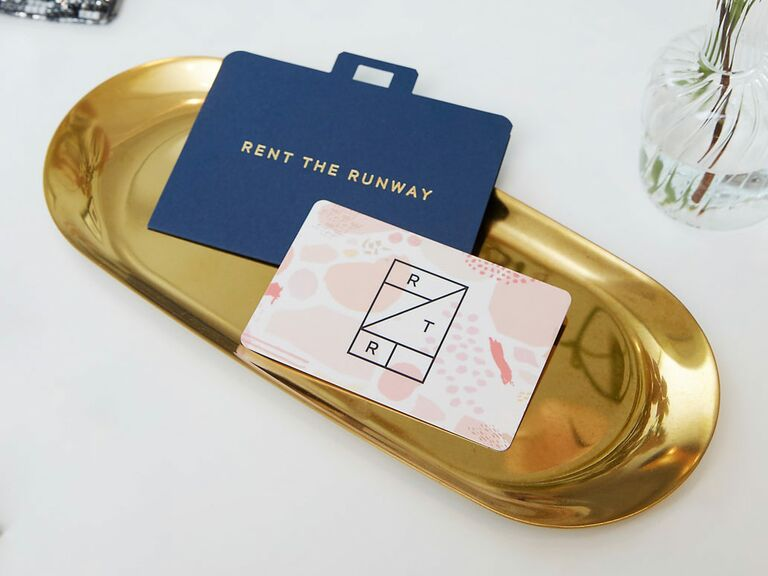 Rent The Runway Gift Card For Engaged Friend