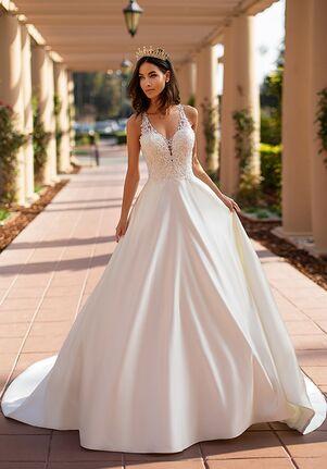 Moonlight Collection J6742 A-Line Wedding Dress