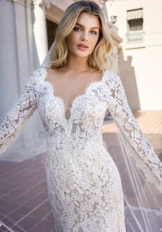 Jasmine Bridal F221009 Mermaid Wedding Dress