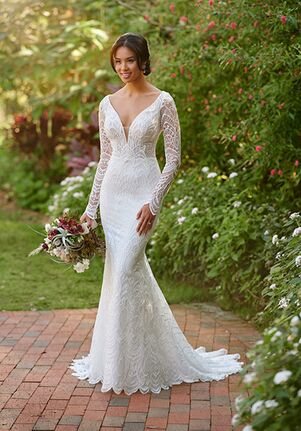 Essense of Australia D3010 Mermaid Wedding Dress